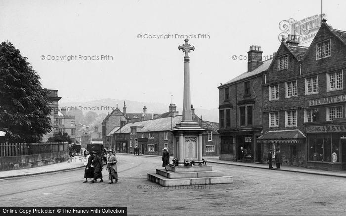 Photo of Bakewell, War Memorial 1923