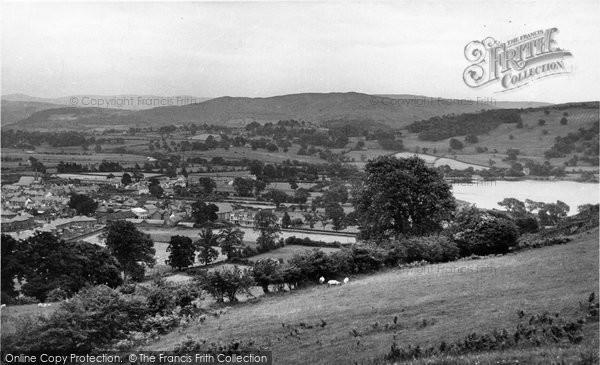 Photo of Bala, And The Lake c.1955