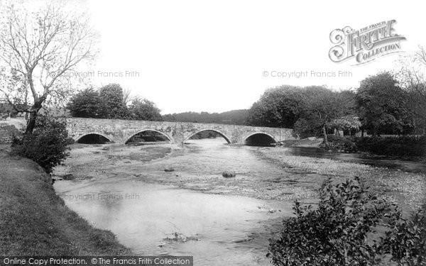 Photo of Bala, Bridge Over The Dee 1896