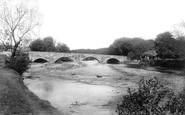 Bala, Bridge Over The Dee 1896