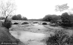 Bala, Bridge Over The Dee 1896