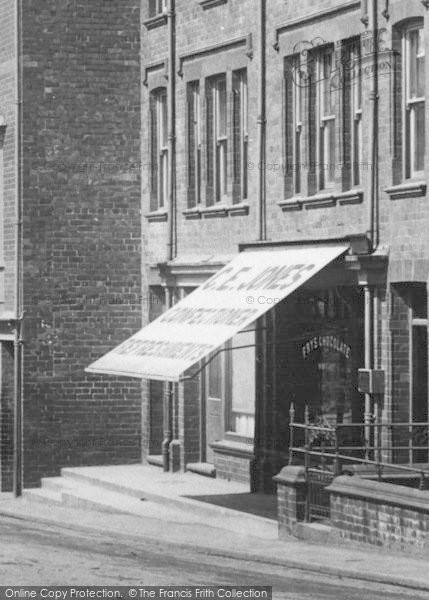 Photo of Bala, Confectioner, Station Road 1908