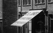 Bala, Confectioner, Station Road 1908