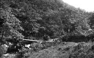 Bala, Footbridge On Aber Hirnant 1888