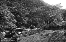 Bala, Footbridge On Aber Hirnant 1888