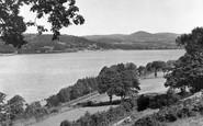 Bala, From Llangower c.1955