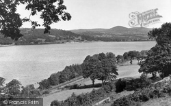 Bala, From Llangower c.1955