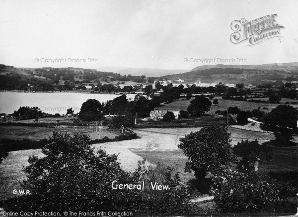 Photo of Bala, General View c.1935