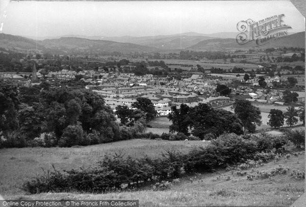 Photo of Bala, General View c.1955