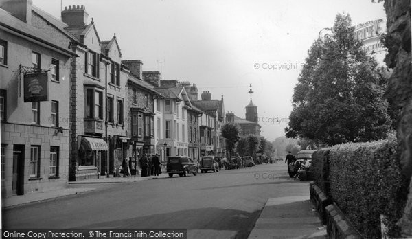 Photo of Bala, High Street 1957