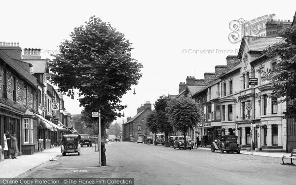 Photo of Bala, High Street c.1955