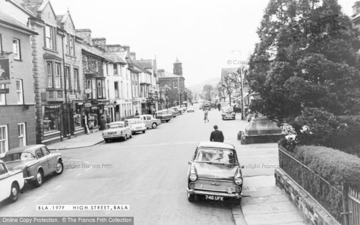 Photo of Bala, High Street c.1965