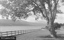 Bala, Lake And The Arran 1954