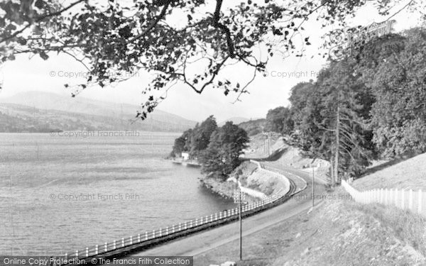 Photo of Bala, Lake And The Arran From Dolgelley Road 1954
