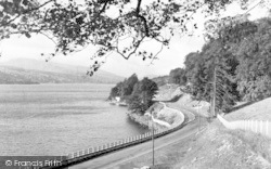 Bala, Lake And The Arran From Dolgelley Road 1954