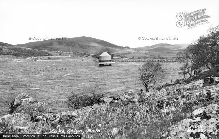 Photo of Bala, Lake Celyn c.1965