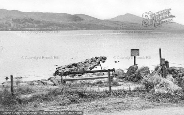 Photo of Bala, Lake From Loch Cafe c.1955