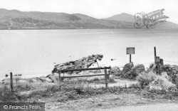 Bala, Lake From Loch Cafe c.1955