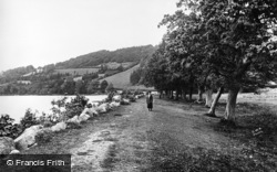 Bala, Lake From Pal Mawr c.1930