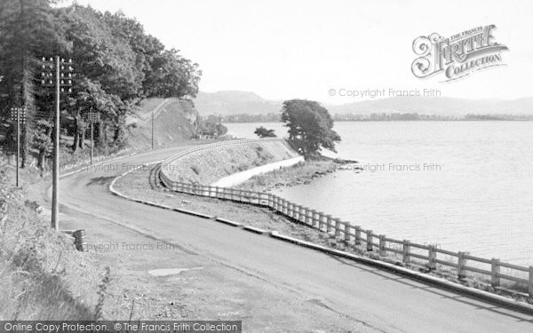 Photo of Bala, Lake Looking East 1954