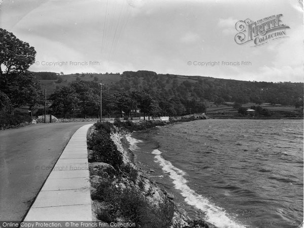 Photo of Bala, Lake Promenade 1935