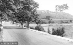Bala, Lakeside Road c.1960