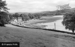 Bala, Loch Cafe And The Lake 1962