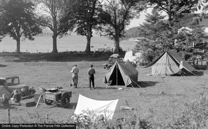 Photo of Bala, Loch Cafe Camping Ground 1954
