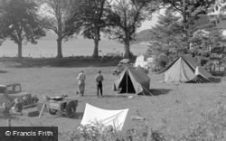 Bala, Loch Cafe Camping Ground 1954
