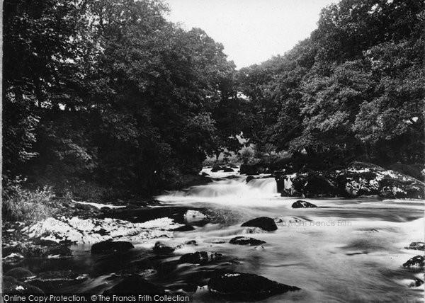 Bala, River Iryweryn c.1935