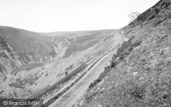 Bala, The Berwyn Pass c.1960