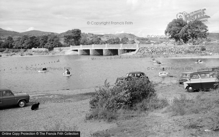 Photo of Bala, The Bridge And Kiddies Corner 1961