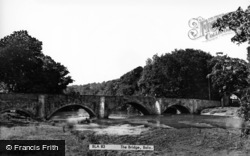 Bala, The Bridge c.1953