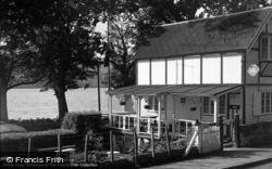 Bala, The Gardens, Loch Cafe 1954