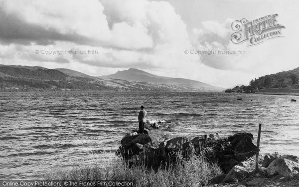 Photo of Bala, The Lake And Arran Mountain 1953