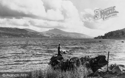 Bala, The Lake And Arran Mountain 1953