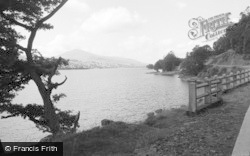 Bala, The Lake And Arran Mountain 1958