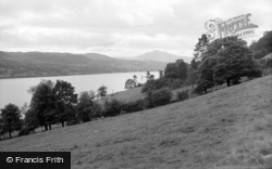 Bala, The Lake And Arran Mountain 1962