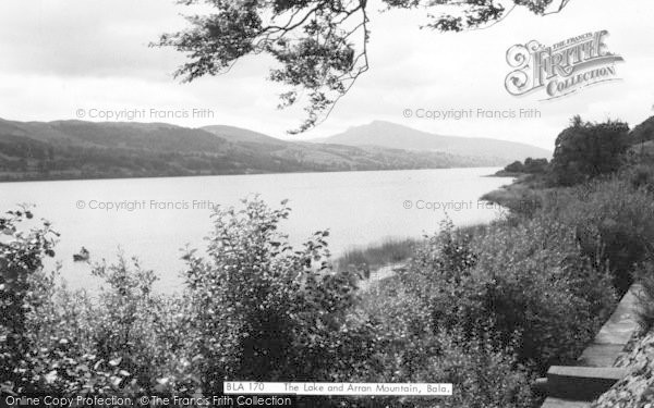 Photo of Bala, The Lake And Arran Mountain c.1965