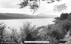 Bala, The Lake And Arran Mountain c.1965