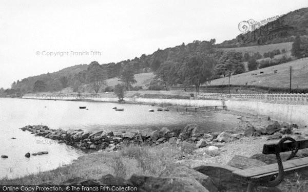 Photo of Bala, The Lake And Boating Station c.1955