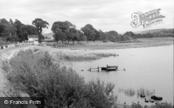 Bala, The Lake And Loch Cafe 1962