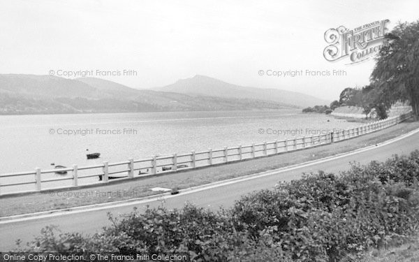 Photo of Bala, The Lake And New Road c.1955