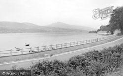 Bala, The Lake And New Road c.1955