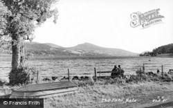 Bala, The Lake c.1955