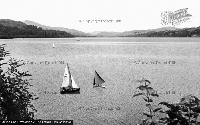 Photo of Bala, The Lake c.1955
