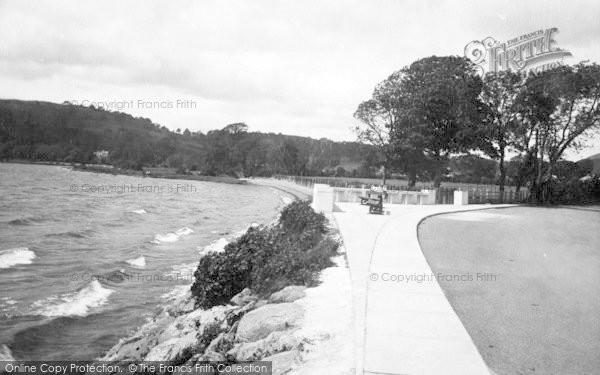 Photo of Bala, The Lake Promenade 1935