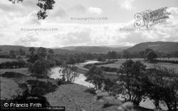 Bala, The River Dee 1953
