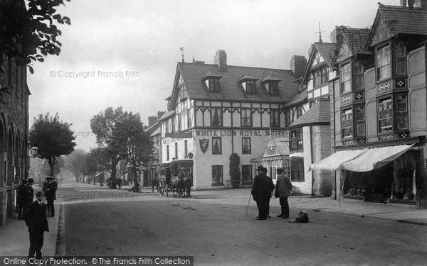 Bala, The White Lion Hotel 1913