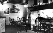 Bala, The White Lion Hotel, The Fish Room Bar 1958